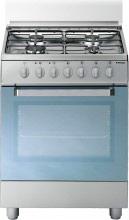 Tecnogas Cucina a Gas 4 Fuochi Forno Elettrico Ventilato Grill 60x50 cm - D53NXS
