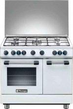 Tecnogas Cucina a Gas 5 Fuochi Forno Elettrico Ventilato 90x60 cm PB965MW