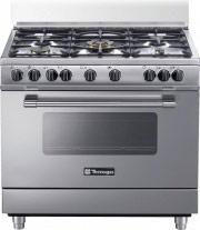 Tecnogas Cucina a gas 5 Fuochi Forno Elettrico Multifunzione 90x60 cm PP965MX