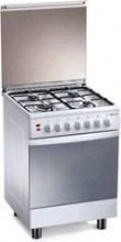 Tecnogas Cucina a Gas 4 Fuochi Forno Elettrico Grill 60x60 cm Bianco - TL667WS