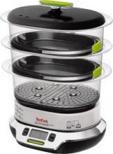 Tefal VS4003 Vaporiera Elettrica 3 contenitori Cottura Vapore 10 Lt  Vitacuisine