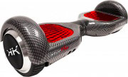"""Tekk Hoverboard 2 Ruote 6.5"""" 15 kmh Speaker Bluetooth Rosso - Carbon Fluo"""