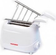 Telefunken Tostapane per Toast 2 Fette 700W 7 Livelli cottura M01378