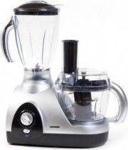 Telefunken M01580 Robot da Cucina Multifunzione 600 W 4 Velocità Col Nero Argento