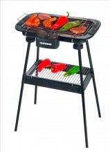 Telefunken Barbecue elettrico da Giardino 2000W Termostato Regolabile M01613