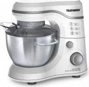 Telefunken Robot da Cucina Impastatrice 600W 8 velocità ArgentoBianco M01845