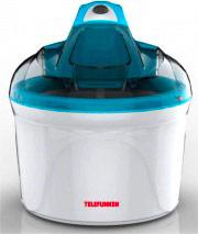 Telefunken M03696 Gelatiera 12 Watts 1 KG Gelato 30 Minuti colore Bianco Blu