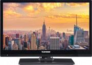 """Telefunken TV LED 22"""" Full HD DVB T2 HVEC CI+ Hotel HDMI USB TE22EUB35TXG ITA"""