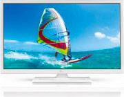 "Telesystem TV LED 23.6"" HD Ready DVB T2S2 CI+ HDMI USB Bianco PALCO24 LED07 W ITA"