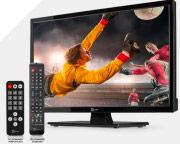 Telesystem 28000121 TV 24 pollici LED HD Ready HDMI DVB T2S2 12 Volt PALCO24 LED08 ITA