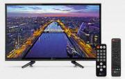 """Telesystem 28000128 TV LED 24"""" HD Ready DVB T2S2 Funzione Hotel  TS24LS 08 ITA"""