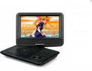 """Telesystem Lettore DVD portatile 9"""" USB Mpeg4 MP3 col Nero TS5011 PX 28015014"""