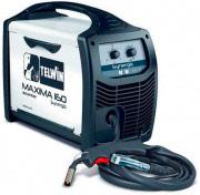 TELWIN 816085 Saldatrice inverter a filo 2.6 kW Ø Fili 0.8 mm Maxima 160 Synergic