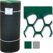 Tenax 61410508 Rete Tuttaplastica Esagonale h 100 M 50 Verde