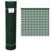 Tenax 62610508 Rete Tuttaplastica 4 x 4 h 100 M 50 Verde