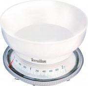 Terraillon Bilancia cucina meccanica Peso massimo 2 Kg col Bianco T 205 5109