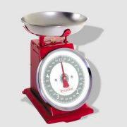 Terraillon TRADITION500 Bilancia Cucina Meccanica Max 5 kg Rosso KW07012 Tradition 500