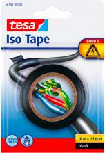 Tesa 56193-00000 Nastro adesivo Isolante protettivo mt 10x15mm nero