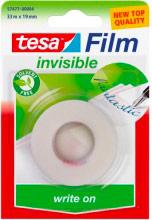 Tesa 57477 Scotch trasparente Invisible 33mt x19mm Nastro adesivo