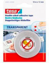 Tesa 64621 Nastro biadesivo Trasparente mm 12x 10 mt
