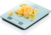 Tescoma Bilancia Cucina Digitale elettronica 3 Kg Colori Assortiti 634544 Accura
