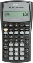 Texas Instruments BAIIPLUS Calcolatrice scientifica 10 cifre colore Nero  BA-II