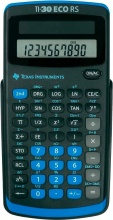 Texas Instruments TI30ECORS Calcolatrice Scientifica Tascabile 10 cifre Nero TI-30 EC RS