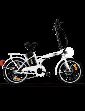 The One One Easy Shining White Bicicletta Elettrica E Bike Pieghevole 250 W 35 km Bianco One