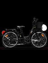 """The One One Light Black Bicicletta Elettrica E Bike 250 W 45 km Ruote 26"""" Nero"""