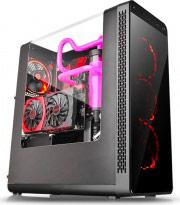 Thermaltake CA-1G7-00M1WN-00 Case PC ATX Midi-Tower No Alimentatore Trasparente