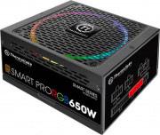 Thermaltake PS-SPR-0650FPCBEU-R Alimentatore PC 650 Watt Ventola 14 cm LED RGB