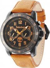 Timberland Orologio Uomo Cronografo cassa Acciaio Cinturino Pelle TBL14109JSBU02