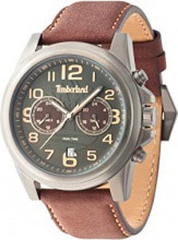 Timberland Orologio Uomo Cronografo cassa Acciaio Cinturino Pelle TBL14518JSU61A
