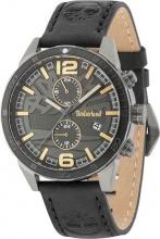 Timberland TBL15256JSUB61 Orologio Uomo Cronografo Acciaio Cinturino Pelle Brown