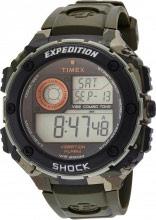 Timex Orologio Uomo Digitale cassa Acciaio e Cinturino Gomma T49981