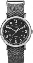 Timex Orologio Uomo Analogico cassa Acciaio e Cinturino Tessuto TW2P72000