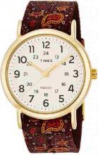 Timex Orologio Donna Analogico cassa Acciaio e Cinturino Tessuto TW2P81200