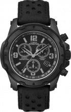 Timex Orologio Uomo Analogico Cronografo Acciaio e Cinturino Pelle TW4B01400