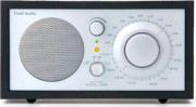 Tivoli Audio Radio FM AUX Cassa in Legno NeroArgento M1BBS Model One Classic