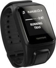 TomTom Smartwatch Orologio fitness Cardiofrequenzimetro Nero Spark Cardio+Music