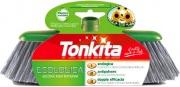 Tonkita 670B Scopa Ecologica con Setole grigie semi-rigide