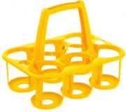 Tontarelli 8075144302 Portabottiglie a 6 posti Cover Line con maniglia