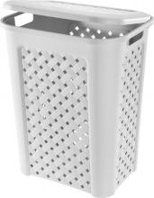 Tontarelli 8105451112 Portabiancheria 30 lt 37.5x27.5xh46.8 cm Plastica Bianco
