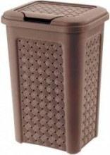 Tontarelli 8105452909 Pattumiera Plastica 10 litri Marrone