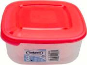 Tontarelli 9040637551 Set 3 contenitori Lt 2.5-1.5-0.95 Frigo Plastica alimenti