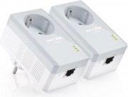 Tp-Link TL-PA4010PKIT Adattatore Rete Starter Kit Powerline HomePlug AV