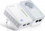 Tp-Link Powerline Wireless Starter Kit AV500 N2 porte Ethernet TL-WPA4226KIT
