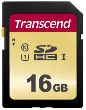 Transcend TS16GSDC500S Scheda di Memoria SD 16GB Classe 10