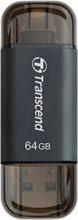 Transcend TS32GJDG300K Pen drive 32 GB Chiavetta USB 3.0 Lightning JetDrive Go