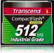 Transcend TS512MCF200I Scheda di Memoria 0,5 GB CompactFlash